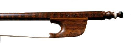 Baroque bow for viola