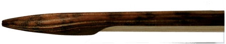 Baroque bow for violin